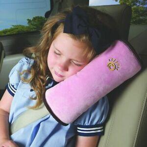 Almohada Para Cinturón De Seguridad De Coche Reposacabezas Cojín De Bebe y Niños