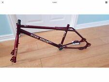Hutch Windstyler Old School Freestyle BMX Frame & Forks Trickstar Candy Red Rare