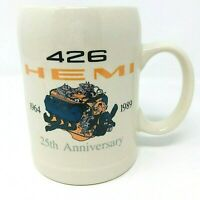 426 Hemi Coffee Mug 25th Anniversary 1964-1989 Mopar Limited Edition