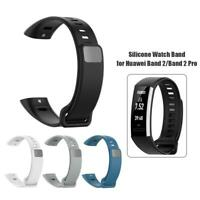 Soft Silicone Watch Band Strap Belt for Huawei Band 2/Band 2 Pro/ERS-B19/ERS-B29