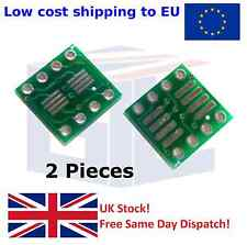 2PCS SOP-8 SO-8 SOIC8 SSOP8 1.27/0.65mm SMD to DIP-8 Adapter PCB Converter