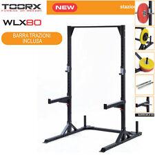 Toorx - WLX-80 HALF RACK PROFESSIONAL Trazioni - Regolabile Altezza con 20fori