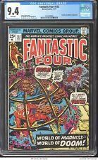 Fantastic Four #152 1974 CGC 9.4 - Thundra and Mahkizmo appearance.