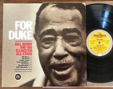 FOR DUKE ~ BILL BERRY / M&K REALTIME RT-101 ~ DIRECT DISC  / AUDIOPHILE NMINT LP