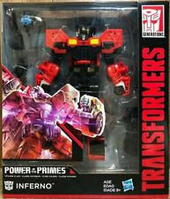 Hasbro Transformers POTP Power of the Primes Voyager Class Inferno Action Figure