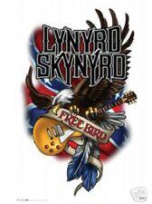 Lynard Skynard Free Bird Eagle Guitar 24x36 Poster- Hard Southern Rock Music New