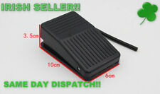 Foot Pedal Switch Electric 10A 250V SPDT Nonslip Plastic Momentary Foot Pedal