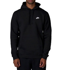 NWT Nike Club Men's Pullover Fleece Hoodie Various Sizes/Colors 804346