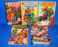 Marvel comics HEROES REBORN The return-5 numeros-edicion americana