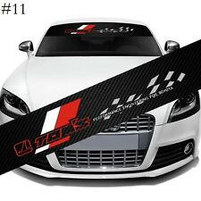 "TOM Racing Car Window Windshield Carbon Fiber Vinyl Banner Decal Sticker 51"""