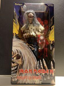 "Iron Maiden Art Asylum Ultimate Series Eddie 18"" Action Figure 2002 NIB"