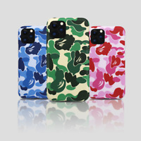 A BATHING APE BAPE ABC CAMO Cover Case For Apple iPhone 11 Pro Max XS XR 8 Plus
