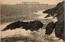 CPA  La Bretagne Pittoresque -Ile-de-Croix- Rochers et Pointe de Pen-Men(457988)