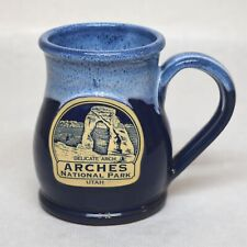 Deneen Pottery Coffee Mug Arches National Park Utah Delicate Arch Handthrown