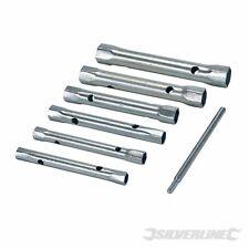 Silverline 589709 Metrische Rohrsteckschlüssel, 6-tlg. Satz 8-19mm