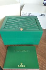 ROLEX OYSTER PERPETUAL DATE 115200 WATCH BOX, OUTER, INSTRUCTIONS