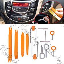 12Pieces Car Radio Door Clip Panel Trim Dash Audio Plastic Removal Pry Tools Kit