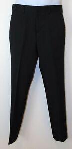 Men's Black Suit Separates Slim Fit Slacks by Reaction Kenneth Cole $85 NWT