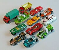 Vintage Lot of 12 Hot Wheels Matchbox Tomica & Other Diecast Cars