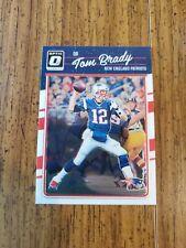 New listing Tom Brady 2016 Donruss Optic Patriots