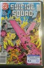 SUICIDE SQUAD #23 CBCS RAW GRADE 9.0 1st.APP. ORACLE-BATGIRL,NEWSSTAND KEY COMIC