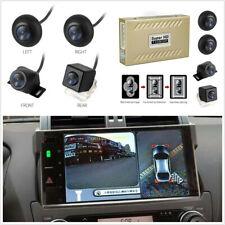 Car 360° HD Starlight DVR Bird View Panoramic System+4*Camera With Shock Sensor
