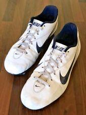 Nike Adult Men's Football Boots Size: 9 (UK)  44 (EU) 10 (US) White & Blue