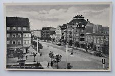 29444 Foto AK Lyck Masuren Ostpreußen Straße mit Läden um 1940