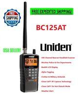 Uniden Police Scanner Handheld Mobile BC125AT Weather Fire Whistler Radio Shack