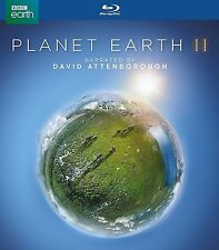 Planet Earth II (Blu-Ray, 2017, 2 discs) brand new sealed fast free shipping