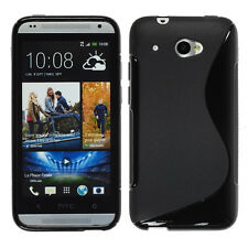 Covers Case Cover Wallet TPU Silicone Gel for HTC Desire 601+ Films Screen