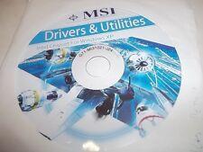 Treiber CD für MainBoard MSI G43M2 G45M2 Treiber Driver Utilities Windows-XP CD