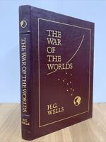 The War of the Worlds By H.G. Wells - Easton Press Leather - VG