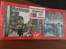 Pack VIRGIN GAME BOY ADVANCE RATONPOLIS + HAPPY FEED PAL ESPAÑA PRECINTADO