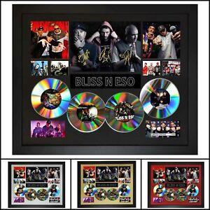 Bliss N Eso 4CD Signed Framed Memorabilia Limited Ed - Multiple Variations