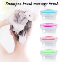Resin Cleaning Scrubber Hair Scalp Massager Shampoo Brush Head Massager Comb HOT