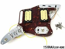 Fender Kurt Cobain Jaguar NOS LOADED PICKGUARD Pickups Switches Tortoise