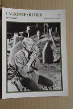 (S32) STARFILMKARTE - Laurence Olivier - Hamlet