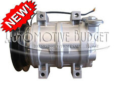 A/C Compressor w/Clutch for Hitachi Kenki & Komatsu Excavators - NEW