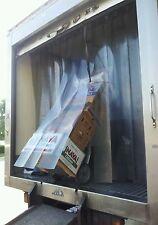 "Strip Curtain Truck Door 84""x 84"" Refrigerated Truck Strip Door. New Pvc Strips."