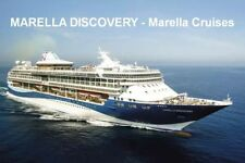 SOUVENIR FRIDGE MAGNET of CRUISE SHIP DISCOVERY - MARELLA CRUISES