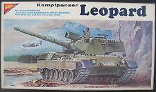 Nichimo R3533 - Kampfpanzer Leopard - 1:35 - Modellbausatz - Tank Model Kit