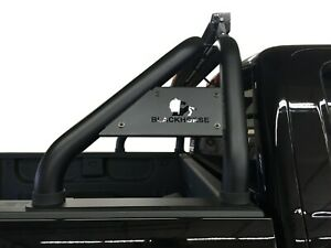 Black Horse Classic Roll Bar Black for 01-19 Silverado1500/2500HD/3500HD RB001BK