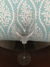 Rosenthal Crystal Versace Collection 'Medusa White Wine Glass-UNSIGNED