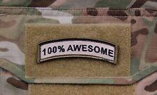 100% AWESOME Tab Patch Multicam US Army Morale Patch Afghanistan Hook & Loop