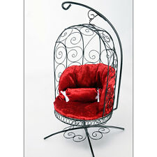 [Dollmore] BJD 1/4 Scale Bird Cage Style Iron Chair (Black/Red)