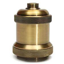Vintage Aluminum Screw Light Socket Keyless Lamp Base Holder for E27 Edison Bulb