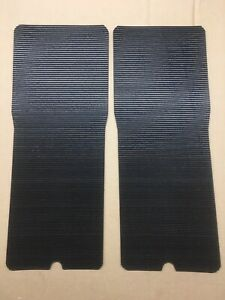 GILSON YT16 YT16H TRACTOR footrest TREADS RUBBER OEM STYLE, PEEL-N-STICK