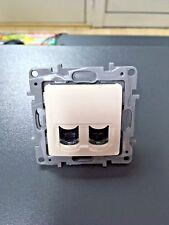 Legrand Niloe 664874 RJ 45 2 x Data Socket CAT.6 UTP Cream