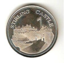 "1977 Elizabeth II Jubilee Medal "" STIRLING CASTLE "" 1952-77 - CROWN ,UNC"
